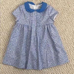 Florence Eiseman Blue Floral Dress
